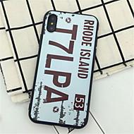 Кейс для Назначение Apple iPhone X iPhone 7 Plus С узором Кейс на заднюю панель Слова / выражения Твердый ПК для iPhone X iPhone 8 Pluss