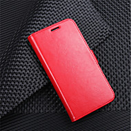halpa Puhelimen kuoret-Etui Käyttötarkoitus LG K10 2018 G7 Korttikotelo Lomapkko Flip Magneetti Suojakuori Yhtenäinen Kova PU-nahka varten LG V30 LG V20 MINI LG