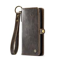 Недорогие Чехлы и кейсы для Galaxy S9-Кейс для Назначение SSamsung Galaxy S9 Бумажник для карт Кошелек Флип Магнитный Чехол Сплошной цвет Твердый Настоящая кожа для S9