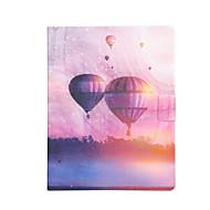 Недорогие Чехлы и кейсы для Galaxy Tab 3 10.1-Кейс для Назначение SSamsung Galaxy Tab 4 10.1 / Tab 3 10.1 / Tab S3 9.7 Бумажник для карт / Защита от удара / со стендом Чехол Воздушные шары Твердый Кожа PU для Tab 4 10.1 / Tab 3 10.1 / Tab S3 9.7