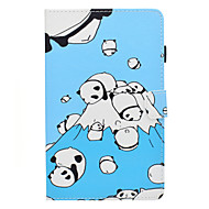 preiswerte Tablet Zubehör-Hülle Für Amazon Kindle Fire hd 7.0 Kreditkartenfächer / Stoßresistent / mit Halterung Ganzkörper-Gehäuse Panda Hart PU-Leder für Kindle Fire hd 7.0
