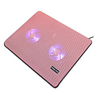 Недорогие Подставки и стенды для MacBook-Устойчивый стенд для ноутбука Другое для ноутбука Подставка с охлаждающим вентилятором пластик Другое для ноутбука
