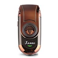 Недорогие Мелкая бытовая техника-Kemei Электробритвы для Муж. 110-240 V Индикатор питания / Карманный дизайн / Легкий и удобный