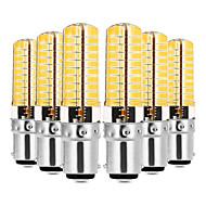 halpa LED Bi-Pin lamput-YWXLIGHT® 6kpl 7W 600-700lm E14 G9 G4 BA15d LED Bi-Pin lamput T 80 LED-helmet SMD 5730 Himmennettävissä Koristeltu Lämmin valkoinen Kylmä