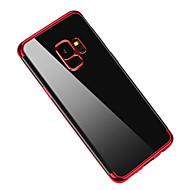 Недорогие Чехлы и кейсы для Galaxy S9 Plus-Кейс для Назначение SSamsung Galaxy S9 S9 Plus Покрытие Полупрозрачный Кейс на заднюю панель Сплошной цвет Мягкий ТПУ для S9 Plus S9 S8