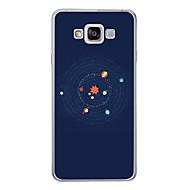 Недорогие Чехлы и кейсы для Galaxy A7(2016)-Кейс для Назначение SSamsung Galaxy A7(2017) A7(2016) С узором Кейс на заднюю панель Мультипликация Мягкий ТПУ для A3 (2017) A5 (2017) A7