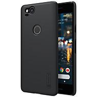 preiswerte Handyhüllen-Hülle Für Google Pixel 2 XL Pixel 2 Stoßresistent Mattiert Rückseite Volltonfarbe Hart PC für Pixel 2 XL Pixel 2