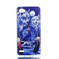 お買い得  携帯電話ケース-ケース 用途 LG V30 Q6 パターン バックカバー 動物 ソフト TPU のために LG X Style LG X Power LG V30 LG Q6 LG K10 LG K8