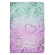 Недорогие Чехлы и кейсы для Galaxy Tab E 9.6-Кейс для Назначение SSamsung Galaxy Tab E 9.6 Tab A 10.1 (2016) Бумажник для карт со стендом Флип С узором Чехол Градиент цвета Твердый