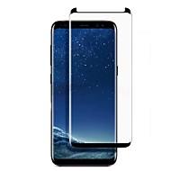 お買い得  Samsung 用スクリーンプロテクター-スクリーンプロテクター Samsung Galaxy のために S9 強化ガラス 1枚 スクリーンプロテクター 3Dラウンドカットエッジ 傷防止 防爆 硬度9H