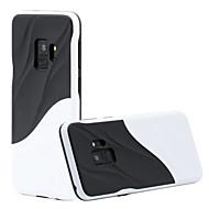 Недорогие Чехлы и кейсы для Galaxy S9 Plus-Кейс для Назначение SSamsung Galaxy S9 S9 Plus Защита от удара Кейс на заднюю панель Полосы / волосы Твердый ПК для S9 Plus S9