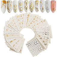 cheap Makeup & Nail Care-30 pcs Artificial Nail Tips Nail Art Kit Full Nail Stickers nail art Manicure Pedicure Cute / DIY Nail Decals