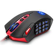 voordelige PC & Tabletaccessoires-REDRAGON M901 PC Bekabeld ergonomische muis Gaming Mat Verstelbaar gewicht DPI Verstelbare Programmeerbaar 16400