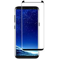 お買い得  Samsung 用スクリーンプロテクター-スクリーンプロテクター Samsung Galaxy のために S9 Plus 強化ガラス 1枚 フルボディプロテクター 3Dラウンドカットエッジ 防爆 硬度9H ハイディフィニション(HD)