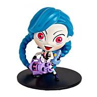 abordables Figuras de acción y Modelos-Figura de juguete Juguetes Guerrero Personas Dibujo 3D PVC (PVJ) 1 Piezas