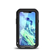 お買い得  -ケース 用途 Apple iPhone X 水/汚れ/ショックプルーフ フルボディーケース 純色 ハード メタル のために iPhone X