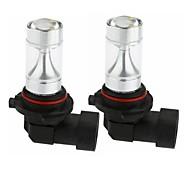 abordables -SENCART 2pcs 9005 Moto / Automatique Ampoules électriques 30W LED Intégrée 1200lm 6 Ampoules LED Éclairage extérieur For Universel Toutes