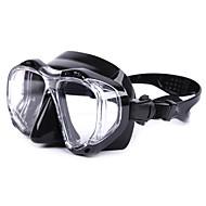 abordables Deportes Acuáticos-Máscara de esnórquel / Gafas de buceo Impermeable, Reflectante, Protector De dos ventanas - Natación, Buceo Silicona, Vidrio - para