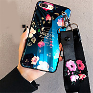 abordables Estuches Cool & Fashion para iPhone-Funda Para Apple iPhone X iPhone 7 Plus Diseños Funda Trasera Flor Suave Silicona para iPhone X iPhone 8 Plus iPhone 8 iPhone 7 Plus