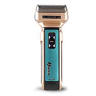 abordables Maquinilla Eléctrica-Kemei Máquinas de afeitar eléctricas for Hombre 110-240V Luz Indicadora de Encendido Ligero y Conveniente Diseño portátil