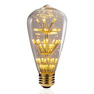 お買い得  LED ボール型電球-BRELONG® 1個 3W 300 lm E26/E27 LEDボール型電球 47 LEDの SMD 星の 装飾用 イエロー 220-240V