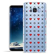 Недорогие Чехлы и кейсы для Galaxy S8 Plus-Кейс для Назначение SSamsung Galaxy S8 Plus S8 С узором Кейс на заднюю панель Плитка С сердцем Мягкий ТПУ для S8 Plus S8 S7 edge S7 S6