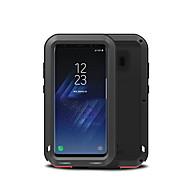 Недорогие Чехлы и кейсы для Galaxy S8 Plus-Кейс для Назначение SSamsung Galaxy S8 Plus S8 Вода / Грязь / Надежная защита от повреждений Чехол Сплошной цвет Твердый Металл для S8