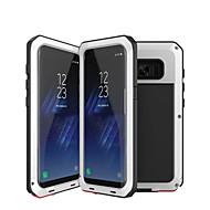 Недорогие Чехлы и кейсы для Galaxy S7 Edge-Кейс для Назначение SSamsung Galaxy S9 S9 Plus Защита от удара Водонепроницаемый броня Чехол броня Твердый Металл для S9 Plus S9 S8 Plus