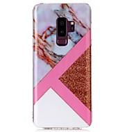 Недорогие Чехлы и кейсы для Galaxy S8-Кейс для Назначение SSamsung Galaxy S9 S9 Plus IMD С узором Кейс на заднюю панель Мрамор Сияние и блеск Мягкий ТПУ для S9 Plus S9 S8 Plus