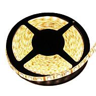 halpa LED-valonauhat-Joustavat LED-valonauhat 300 LEDit Lämmin valkoinen Leikattava Vedenkestävä Itsekiinnittyvä Yhdistettävä DC 12V