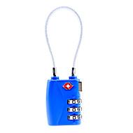 abordables Candados Mecánicos-TSA719 Candado Aleación de zinc El plastico para Llave