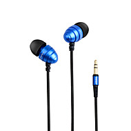 cheap -AWEI ES-Q2 In Ear Cable Headphones Dynamic Metal Shell Gaming Earphone Mini Comfy Stereo Headset