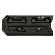 abordables Accesorios para PS4-Cargador / Escote Chino / Ventiladores Para PS4 Delgado ,  Conecte y Utilice Cargador / Escote Chino / Ventiladores Metal / ABS 1 pcs unidad