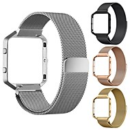 cheap Watch Bands for Fitbit-Watch Band for Fitbit Blaze Fitbit Milanese Loop Stainless Steel Wrist Strap