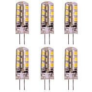 お買い得  -2w g4 led 2ピン電球24 smd 2835 dc 12vシリングライト/ rv /キャラバンウォーム/コールドホワイト(6個)