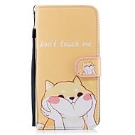 Недорогие Чехлы и кейсы для Galaxy S8 Plus-Кейс для Назначение SSamsung Galaxy S9 Plus S8 Plus Бумажник для карт Кошелек со стендом Флип С узором Чехол С собакой Твердый Кожа PU для