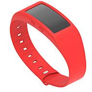 Недорогие Аксессуары для смарт-часов-Ремешок для часов для Gear Fit 2 Samsung Galaxy Спортивный ремешок силиконовый Повязка на запястье
