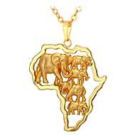 お買い得  -男性用 / 女性用 ペンダントネックレス  -  ファッション ゴールド 55 cm ネックレス 用途 日常