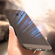 Недорогие Чехлы и кейсы для Galaxy S9 Plus-Кейс для Назначение SSamsung Galaxy S9 Plus / S9 Ультратонкий Кейс на заднюю панель Однотонный Твердый ПК для S9 / S9 Plus / S8 Plus