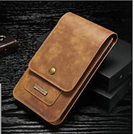 Недорогие Чехлы и кейсы для Huawei Honor-Кейс для Назначение Huawei Honor View 10(Honor V10) Бумажник для карт Кошелек Мешочек Сплошной цвет Твердый Настоящая кожа для Huawei