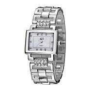 저렴한 -ASJ 여성용 드레스 시계 일본어 일본 쿼츠 실버 / 골드 캐쥬얼 시계 아날로그 패션 미니멀리스트 - 골드 실버 1 년 배터리 수명 / SSUO SR626SW + CR2025