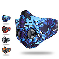XINTOWN Αθλητική μάσκα Μάσκα Προσώπου Κόκκινο Μπλε Γκρίζο Χειμώνας Αντιανεμικό Αναπνέει Με προστασία από την σκόνη Ποδηλασία / Ποδήλατο Καθημερινή Χρήση Γιούνισεξ Ζωγραφιά Νάιλον / Ποδηλασία Βουνού