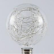お買い得  LED ボール型電球-1個 1W - E26 / E27 LEDボール型電球 20 LEDビーズ SMD 星の 温白色 RGB 200-240V