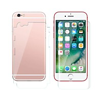 Недорогие Защитные плёнки для экрана iPhone-Защитная плёнка для экрана Apple для iPhone 6s Plus iPhone 6 Plus TPG Hydrogel 2 штs Защитная пленка для экрана и задней панели Против