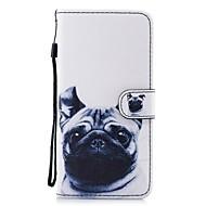 Недорогие Чехлы и кейсы для Galaxy S9-Кейс для Назначение SSamsung Galaxy S9 Plus S8 Plus Бумажник для карт Кошелек со стендом Флип С узором Чехол С собакой Твердый Кожа PU для