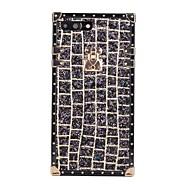 Недорогие Кейсы для iPhone 8 Plus-Кейс для Назначение Apple iPhone X iPhone 8 Защита от удара IMD С узором Сияние и блеск Кейс на заднюю панель Геометрический рисунок
