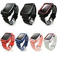 Horlogeband voor Apple Watch Series 4/3/2/1 Apple Sportband Silicone Polsband