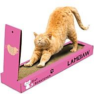 お買い得  -キャットニップ ベッド シンプル ペットフレンドリー スクラッチマット パラベンフリー ホルムアルデヒドフリー 段ボール紙 用途 猫用