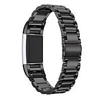 Недорогие Аксессуары для смарт-часов-Ремешок для часов для Fitbit Charge 2 Fitbit Современная застежка Металл Повязка на запястье