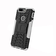 preiswerte Handyhüllen-Hülle Für OnePlus OnePlus 5T 5 Stoßresistent mit Halterung Rüstung Rückseite Anwendung Rüstung Hart PC für One Plus 5 OnePlus 5T One Plus